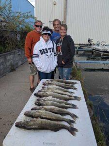 Lakeside Fishing Charters   Walleye 2020
