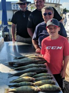 Lakeside Fishing Charters | Walleye and Perch